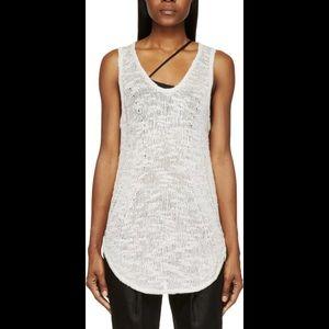 Helmut Lang Knit Silk Top Size S